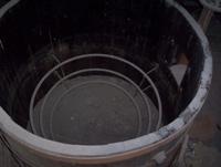 Wooden fermentation vat lining