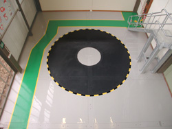 Military Training Room after Resin Flooring treatment