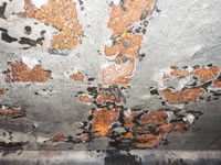 Demineralised Hot Water Tank Lining – Before Treatment
