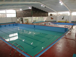 Swimming Pool after epoxy resin lining