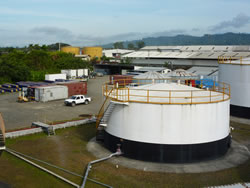 Niugini Oil Company, Lae, Papua New Guinea, International Tank Lining