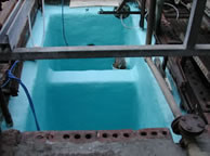 Chemical Resistant Lining Applied to Concrete Chemical & Waste Water Effluent Tanks