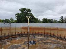 Tank Lining Stainless Steel Digester Lining with Polyure