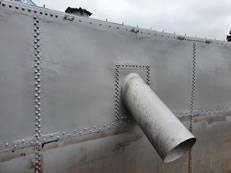 Tank Lining Stainless Steel Digester Lining with Polyurea