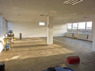Pentland Brands, Office Floor, Before