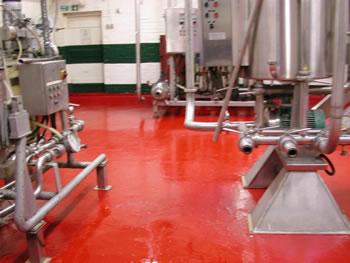 Floor after Resin Flooring Treatment