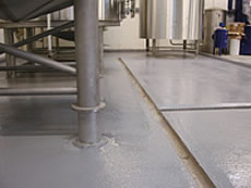 Crouch Vale Brewery: Chemical Bund Lining and Chemical Resistant Anti-slip Flooring