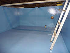 Hotel In The Scottish Borders: Sectional Fibreglass Water Tank Lining