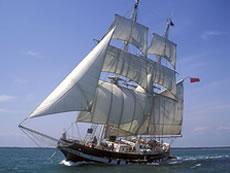TS Royalist at Sea