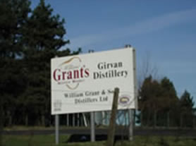 Grants Whisky Entrance