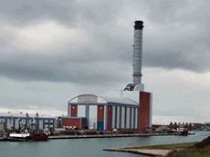 Shoreham Power Station: High Temperature Coating
