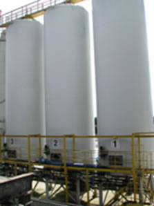 Starch Holding Tanks