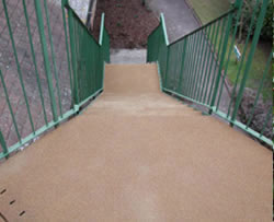 Steps before Anti-slip Resin Flooring Treatment